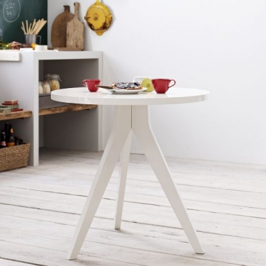 West Elm Round Tripod Table